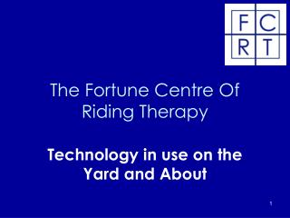 The Fortune Centre Of Riding Therapy