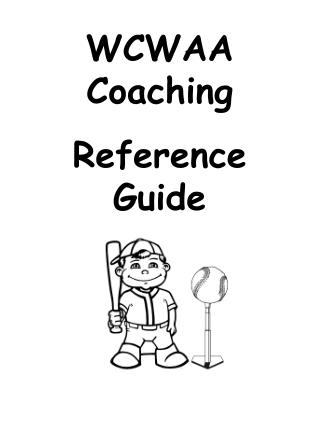 WCWAA Coaching Reference Guide