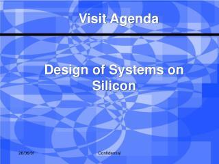 Visit Agenda