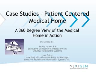 Case Studies – Patient Centered Medical Home