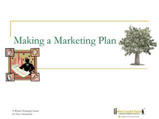 Making a Marketing Plan