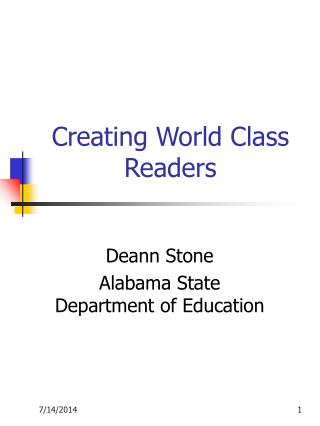 Creating World Class Readers