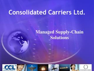 Consolidated Carriers Ltd.