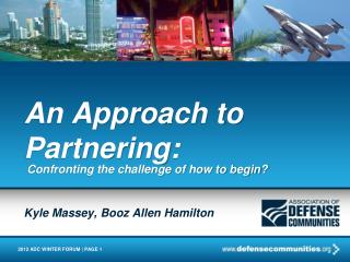 An Approach to Partnering: