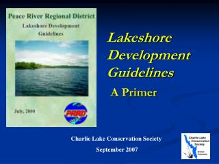 Lakeshore Development Guidelines A Primer