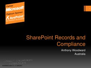 SharePoint Records and Compliance
