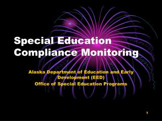 Special Education  Compliance Monitoring