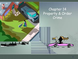 Chapter 14  Property & Order Crime