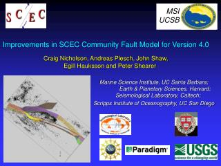 Improvements in SCEC Community Fault Model for Version 4.0