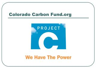 Colorado Carbon Fund.org