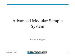 Advanced Modular Sample System