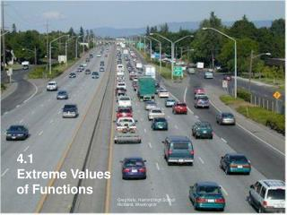 4.1 Extreme Values of Functions