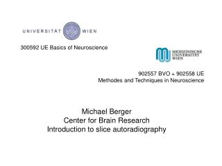 300592 UE Basics of Neuroscience