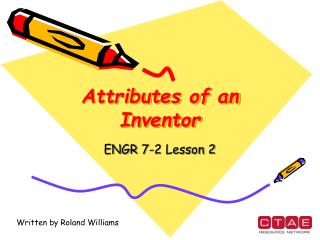 Attributes of an Inventor