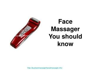facial massager