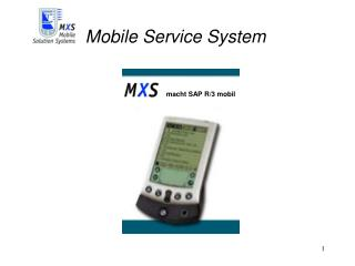 Mobile Service System