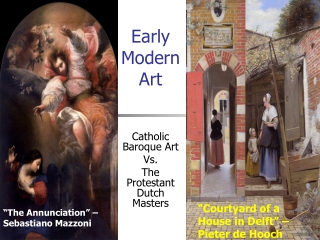 Early Modern Art