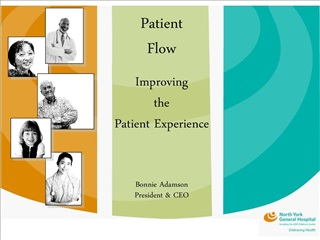 Patient Flow  Improving the Patient Experience