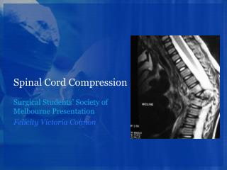 Spinal Cord Compression
