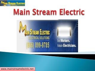 Professional Electrical Solutions Expert in California !