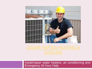Cedar Rapids HVAC Contractors
