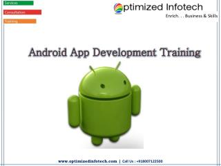 Android Development Training Institute in Pune