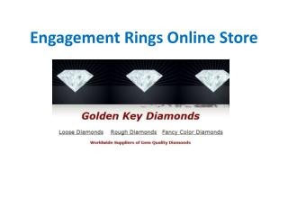 Engagement Rings Online Store