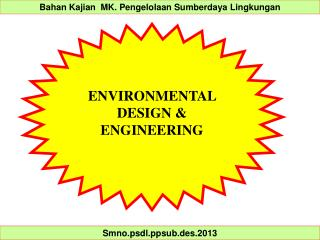 ENVIRONMENTAL  DESIGN & ENGINEERING