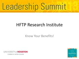 HFTP Research Institute