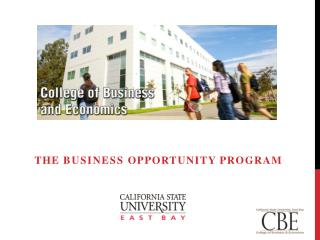 THE  Business  OPPORTUNITY PROGRAM