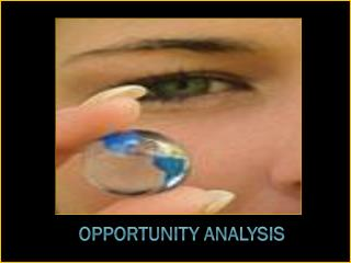 Opportunity Analysis
