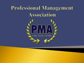 Professional Management Association