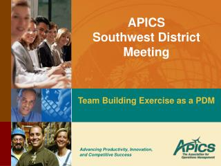 APICS Southwest District Meeting