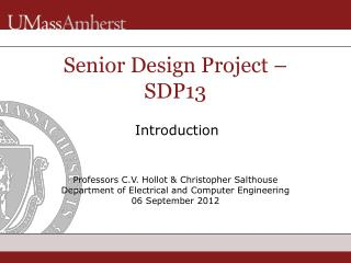 Senior Design Project – SDP13