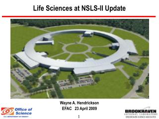 Life Sciences at NSLS-II Update
