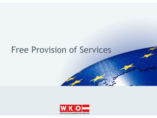 Free Provision  of  Services