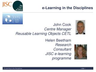 e-Learning in the Disciplines