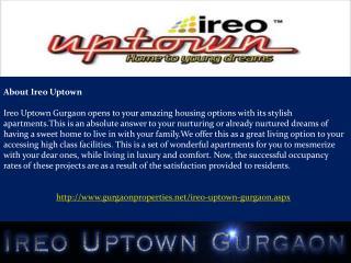 Ireo Uptown Gurgaon