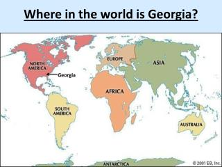 Where in the world is Georgia?
