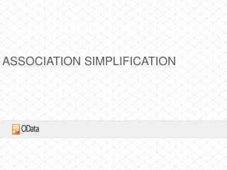 Association Simplification