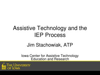Assistive Technology and the IEP Process
