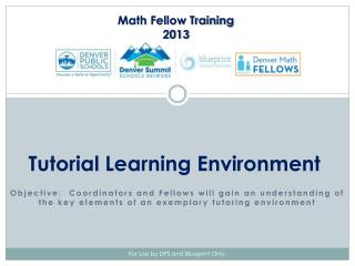 Tutorial Learning Environment