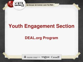 Youth Engagement Section
