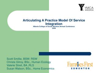 Articulating A Practice Model Of Service Integration Alberta College of Social Workers Annual Conference 2008