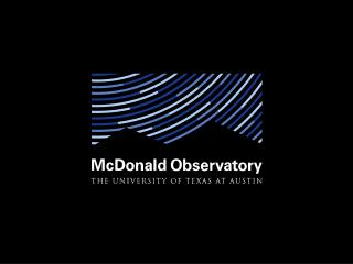 Branding Progress for  McDonald Observatory
