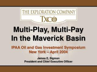 IPAA Oil and Gas Investment Symposium New York – April 2004