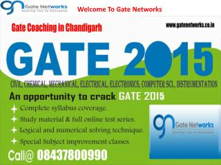 Welcome To Gate Networks