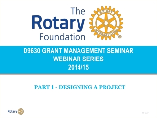 Designing for Rotary
