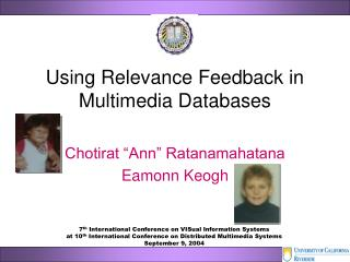 Using Relevance Feedback in Multimedia Databases
