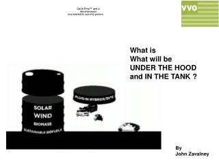 What is What will be UNDER THE HOOD and IN THE TANK ?
